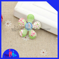 33X33mm flower shaped princess flat back cabochons resin for DIY hair accessories