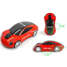 New brand factory sale custom logo car shape mouse 2.4 Ghz wireless mouse