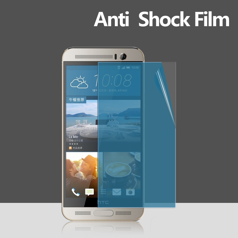 Factory price supply New Arrival Ultra Smooth blue Anti-broken Premium Screen Protector for HTC one M9 plus