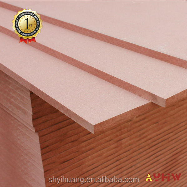 9mm pink fireproof interior mdf wall decorative paneling