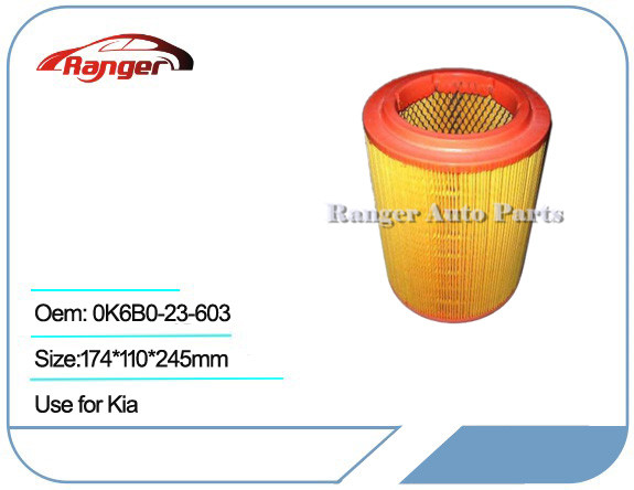 Car Air Filter 0K6B0-23-603 for KIA