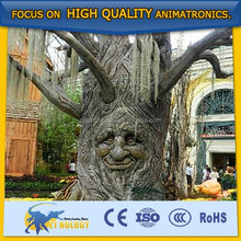 Cetnology newest!!! Standard artificial lifelike robotic Talking Tree for park entertainment