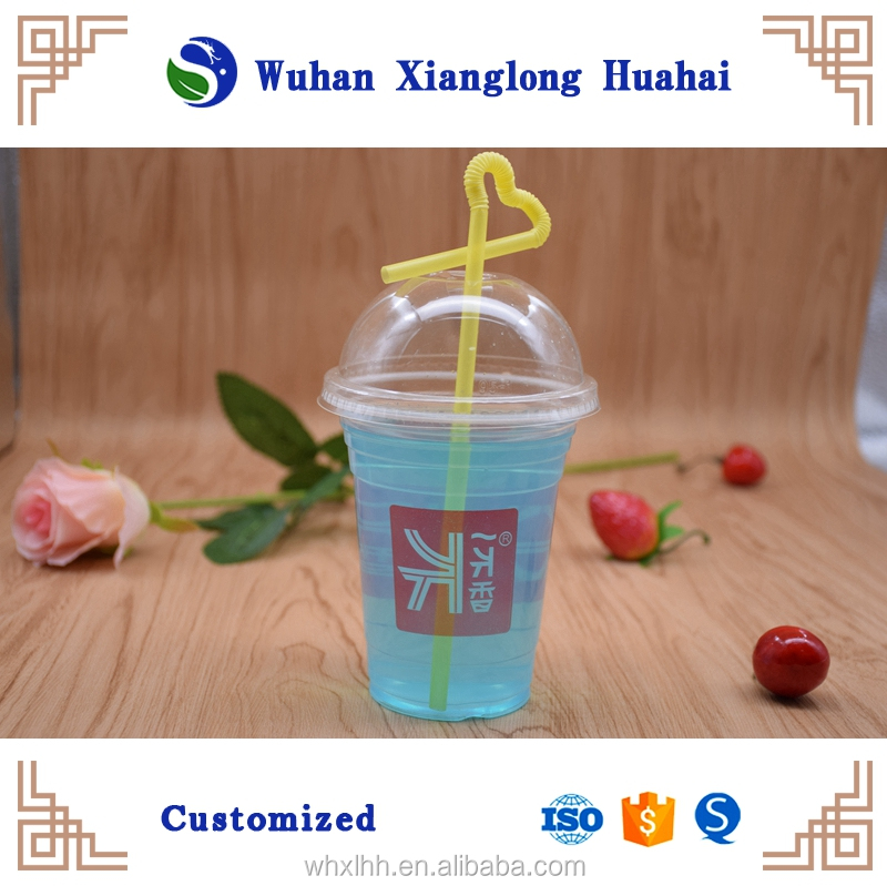 HOT Sell and cheap price Plastic fruit juice /milkshake cup 750ml wholesale in china