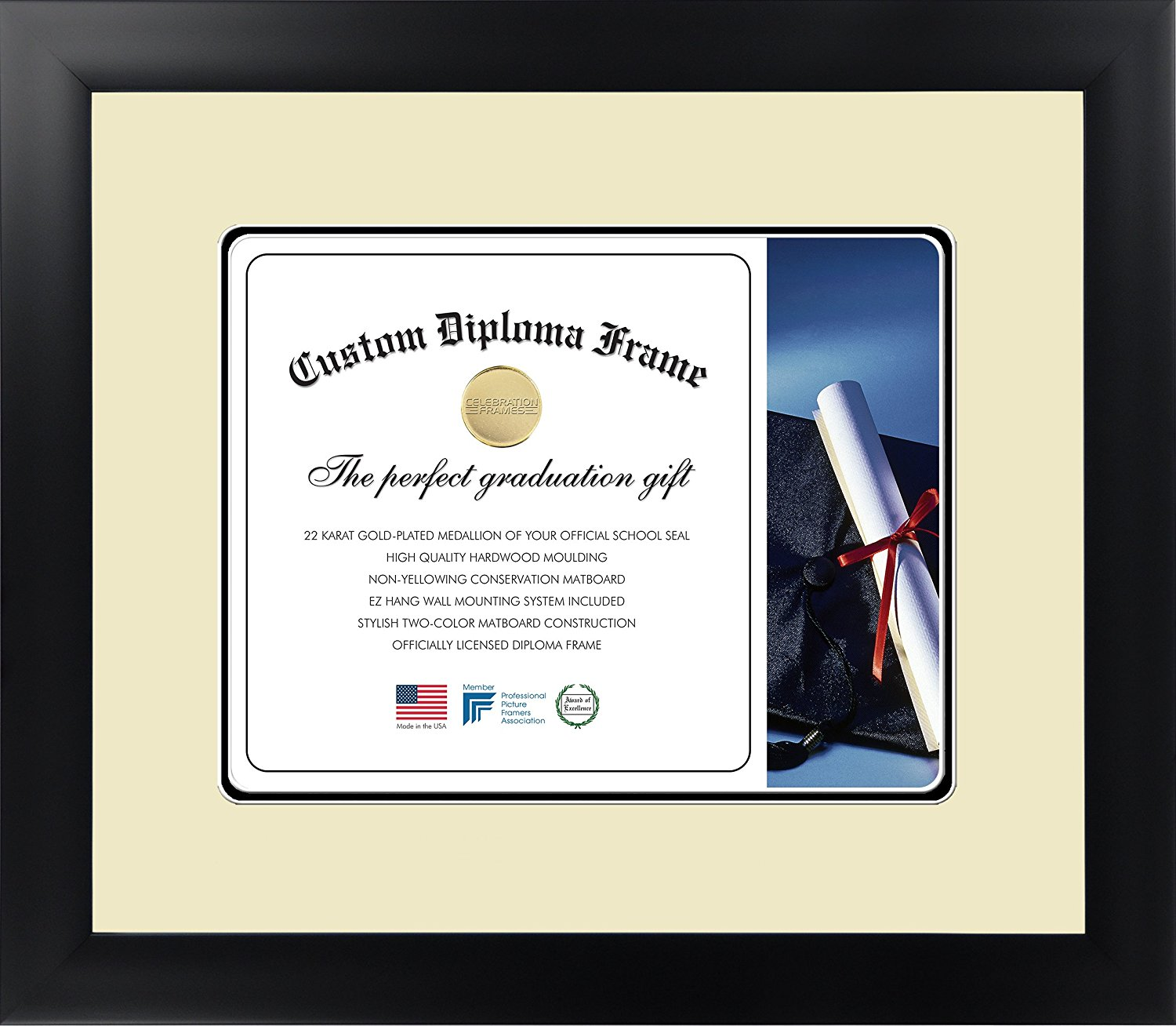 Old Fashioned Uga Diploma Frame Crest - Framed Art Ideas ...