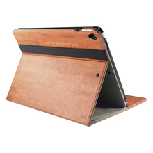 Business Rotating Case Cover Build-in Hand Strap for iPad Pro 10.5