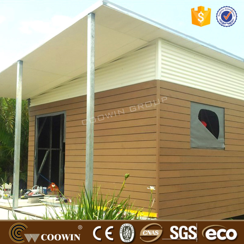 Outdoor teak hard wall panel exterior composite cladding