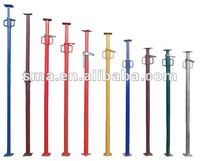 Q235 adjustable scaffolding post shore steel props for support
