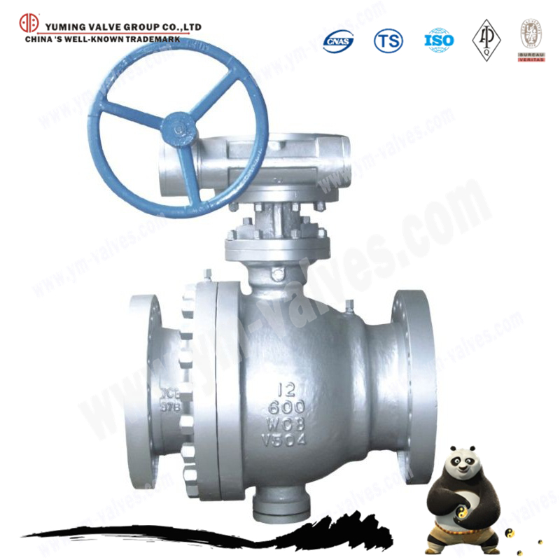 Metal hard seal fixed ball valve price