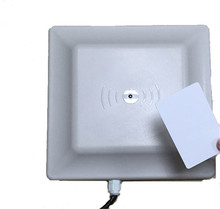 low price mid range 900Mhz epc gen2 uhf rfid reader and rfid antenna 8dbi for warehouse management