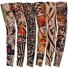 Custom Multifunction Cycling Wear Fashion Outdoor Sport Anti-UV Protection Breathable Arm tattoo Sleeve