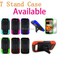 T stand robot hybrid combo kickstand cover case for LG Spirit 4G MS870