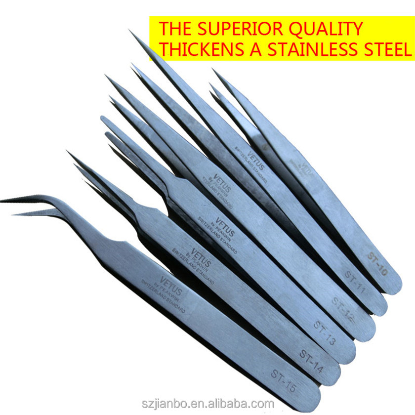 tweezers antistatic/a type tweezers/cleanroom tweezer