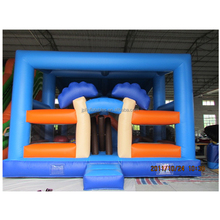 Factory price Rental business Amusement equipment funland inflatable fun city for kids
