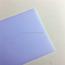 ZHONGDING 2.5mm solid polycarbonate sheet covering roofing plastic panels