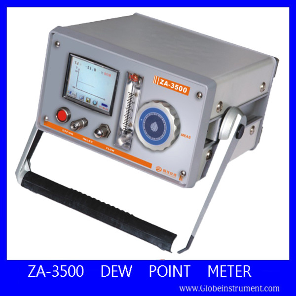 Newly ZA-3500 Portable Analizador de gases co2 Meter