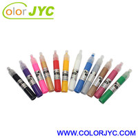 New 12 Colors DIY 3D Nail Art Painting Polish Pen Set