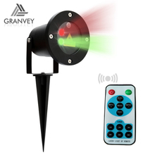 Mini outdoor red green dot laser christmas decoration light show projector