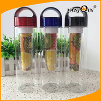 Leak-Proof Fruit/Vegetable Infuser Water Bottle with Carrying Handle