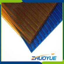 4mm compact anti-drop glass cover pool skylight dome polycarbonate solid greenhouse roofing material sheet