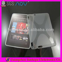 for Kindle Fire HDX 7 inch tpu materials case X design