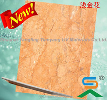 High glossy Wood textured UV MDF Board , UV panel for Kitchen and Cabinet