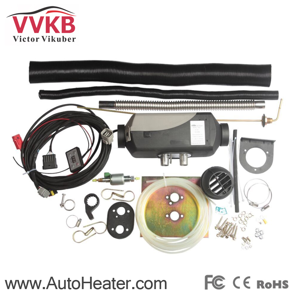 Diesel heaters 24V 5KW Air Parking Heater in diesel truck, boat, Rv, Camper,bus, caravan,Motor home