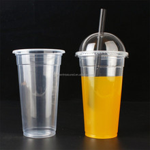 Sale for plastic cups 22oz Plastic cup disposable take away afternoon tea cups