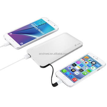 Rechargeable battery for mobile phone,power bank 10000mah battery
