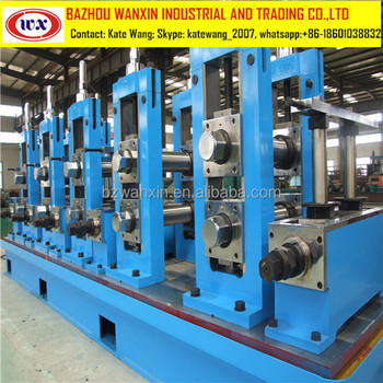 Steel pipe rolling machine