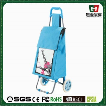 New Design Foldable Printing Shopping Trolleys