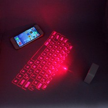 Bluetooth Laser keyboard with mouse function for Galaxy note