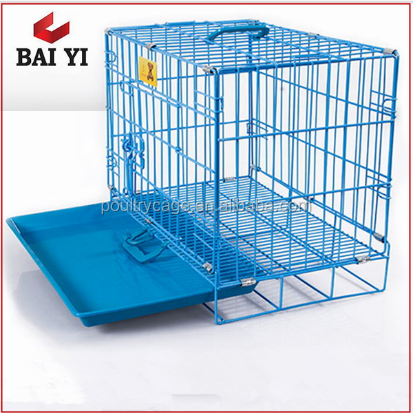 Metal Foldable Wire Dog Display Crate Cage