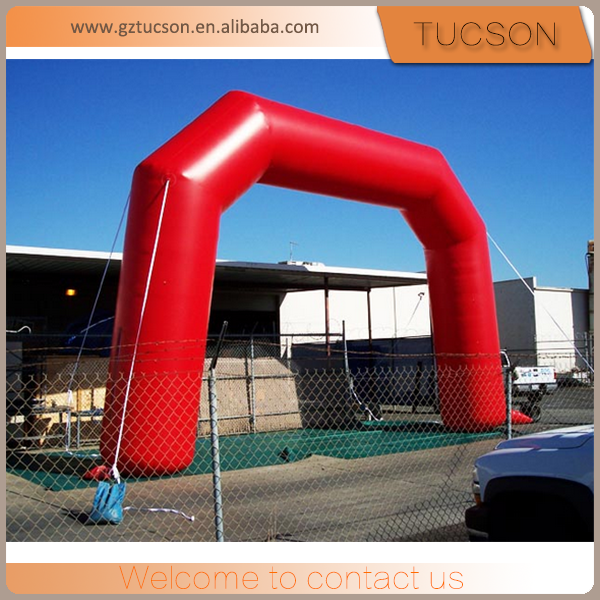 outdoor commercial advertising inflatable entrance arch door for sale