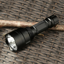 Brightest LED Flashlight Lotus 10W 1000 Lumens 5 Modes Waterproof tactical flashlight torch for camping biking hiking emergency