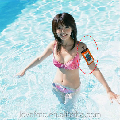New Camera Bag Waterproof Case PVC Dry Bag With Wrist Strap For Samsung ,HTC,Blackberry