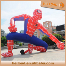 advertising balloon giant inflatable spiderman for parade / event