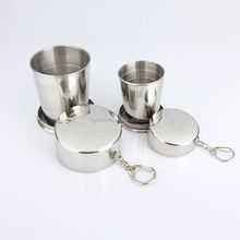 250ml stainless steel folding <strong>cup</strong>