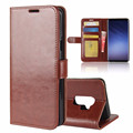 Leather Credit Card Cell Phone Case Wallet for Samsung S9 plus