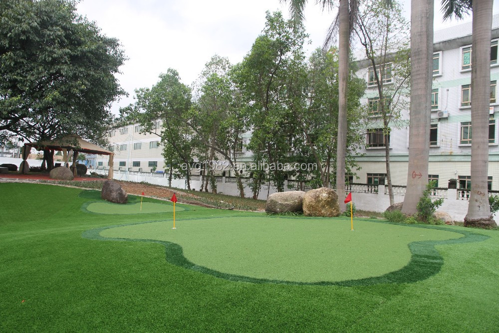 10mm Synthetic Turf Artificial Grass For Mini Golf Court