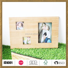 latest custom made handicraft wood picture photo frame decoration