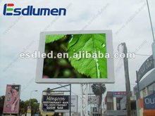 2012 Hot sale P16mm Outdoor Building Top Video Fullcolor Advertising led scrolling message screen display