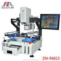 Seamarkzm automatic zm-r6823 laser SMT bga rework with Split-vision optics and auto X-Y drive