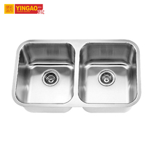 Highly Praised European Style Commercial Stainless Steel Restaurant Freestanding Kitchen Sinks