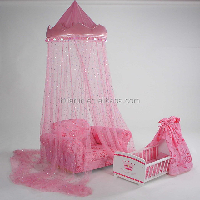 kids princess mosquito net for decoration or as toy