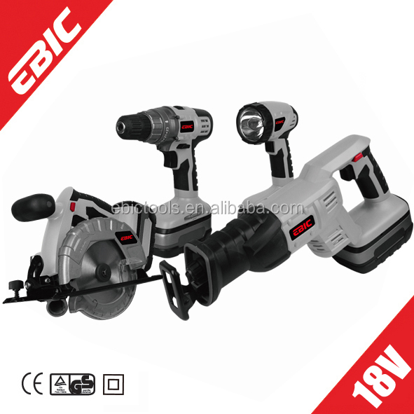 2015 New Power Tools 18V Cordless Combo <strong>Kit</strong> and Tool <strong>Kit</strong>