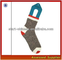 Famous Designer Wholesale Women Crew Original Rockford Red Heel Sock Monkey To Make Monkey Socks