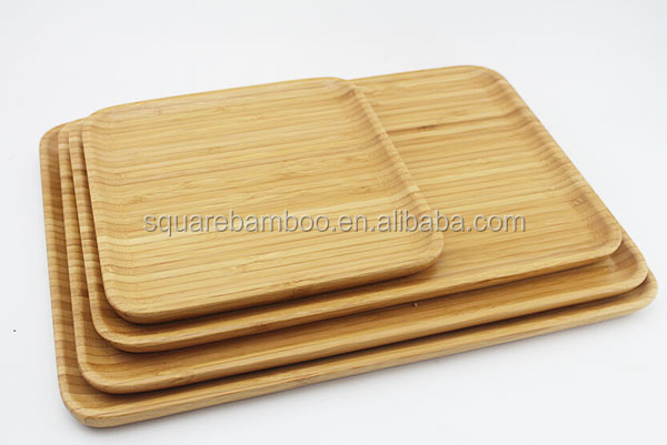 wood rectangular plate