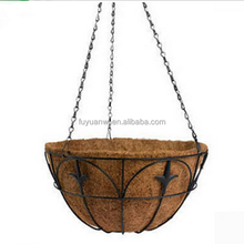 Decorative Metal Hanging Basket Planters