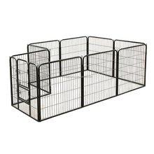 Portable Outdoor Foldable Metal Pet Play Yard Wire Pen