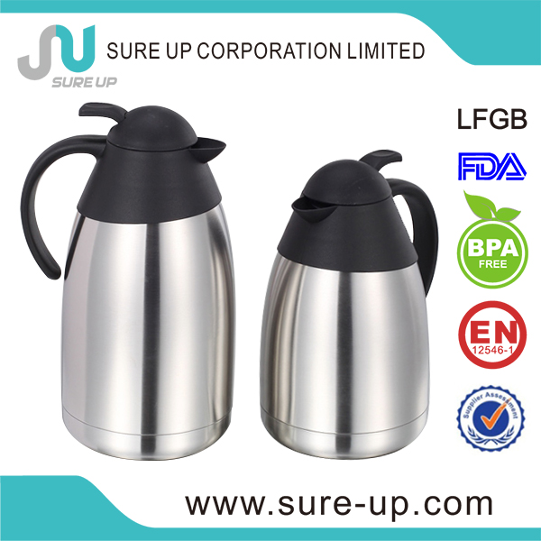 Hot Selling stainless steel thermos vacuum 24 hours coffee jugs(JSUC)